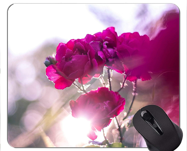 Yanteng Cojín de ratón del rectángulo, Cientos de Flores ...