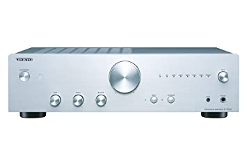 Onkyo A-9010-S - Amplificador esterero Integrado (44 W por Canal, 5 entradas analógicas y 1 Salida, 2 entradas Digitales) Color Plata: Amazon.es: ...