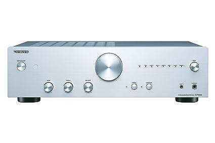 Onkyo A-9010-S - Amplificador esterero Integrado (44 W por Canal, 5 entradas analógicas y 1 Salida, 2 entradas Digitales) Color Plata