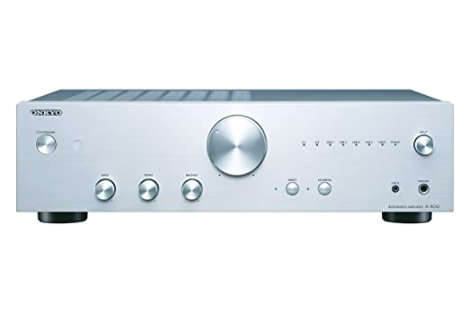 52 opinioni per Onkyo A-9010 Amplificatore Stereo Audiophile con LED, GND, MM, WRAT, Argento