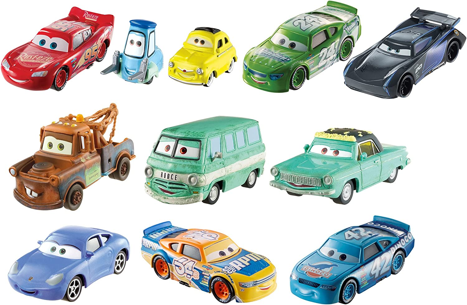 Disney Pixar Cars 3 Die-cast Dot-com 10-Pack