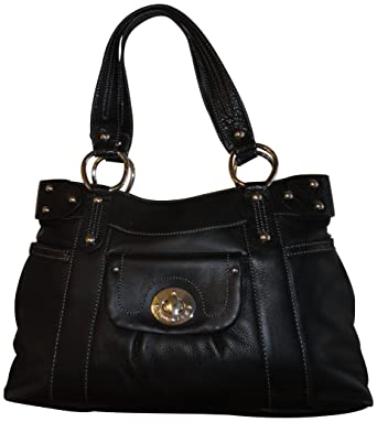 Image Unavailable. Image not available for. Color  Women s Etienne Aigner  Purse Handbag Audrey Collection Black Leather 5b0053f11870e