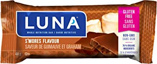 product image for LUNA BAR - Gluten Free Snack Bars - S'mores Flavor - (1.69 Ounce Snack Bar, 6 Count)