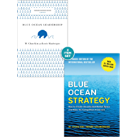 """Blue Ocean Strategy with Harvard Business Review Classic Article """"Blue Ocean Leadership"""" (2 Books)"""