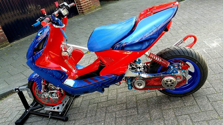 9,5cm Passare il carburatore al posteriore Easyboost Telaietto Reggiblocco Modificato Subframe Racing Dragster MBK Nitro Yamaha Aerox Minarelli orizzontale LC Aumentare il passo di 9.5cm