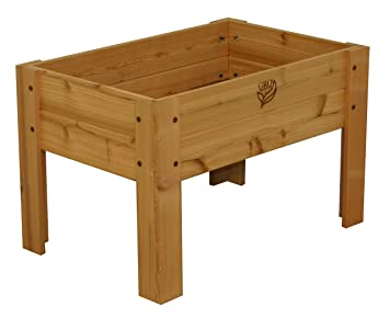 Amazoncom GRO Products Cedar Elevated Garden Bed 36 x 24 x 24