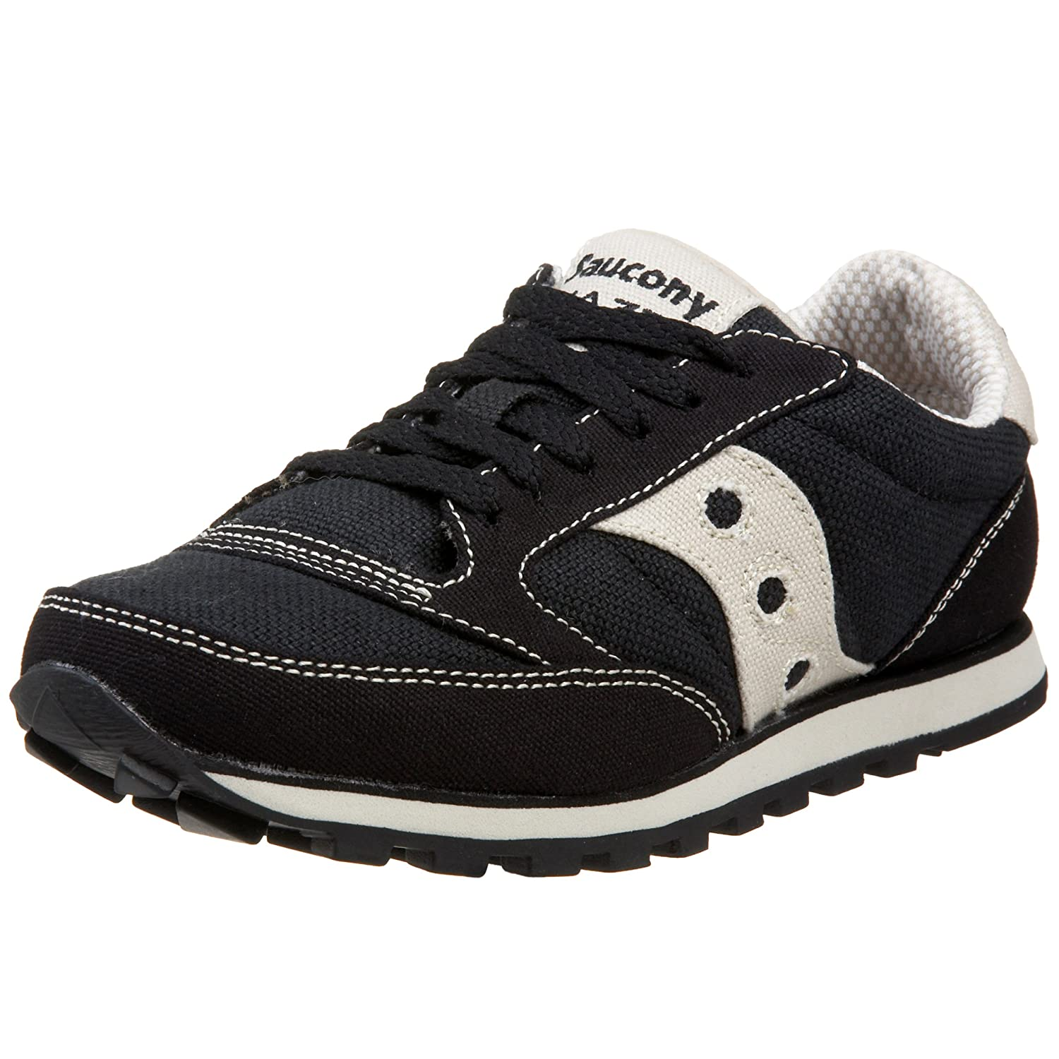 Saucony Originals Women's Jazz Low Pro Vegan Retro Sneaker B000OUZ7F4 7.5 B(M) US|Black