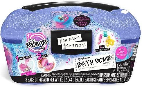 Canal Toys - So Bomb DIY Bath Bomb Kit Caddy (3 Pack)