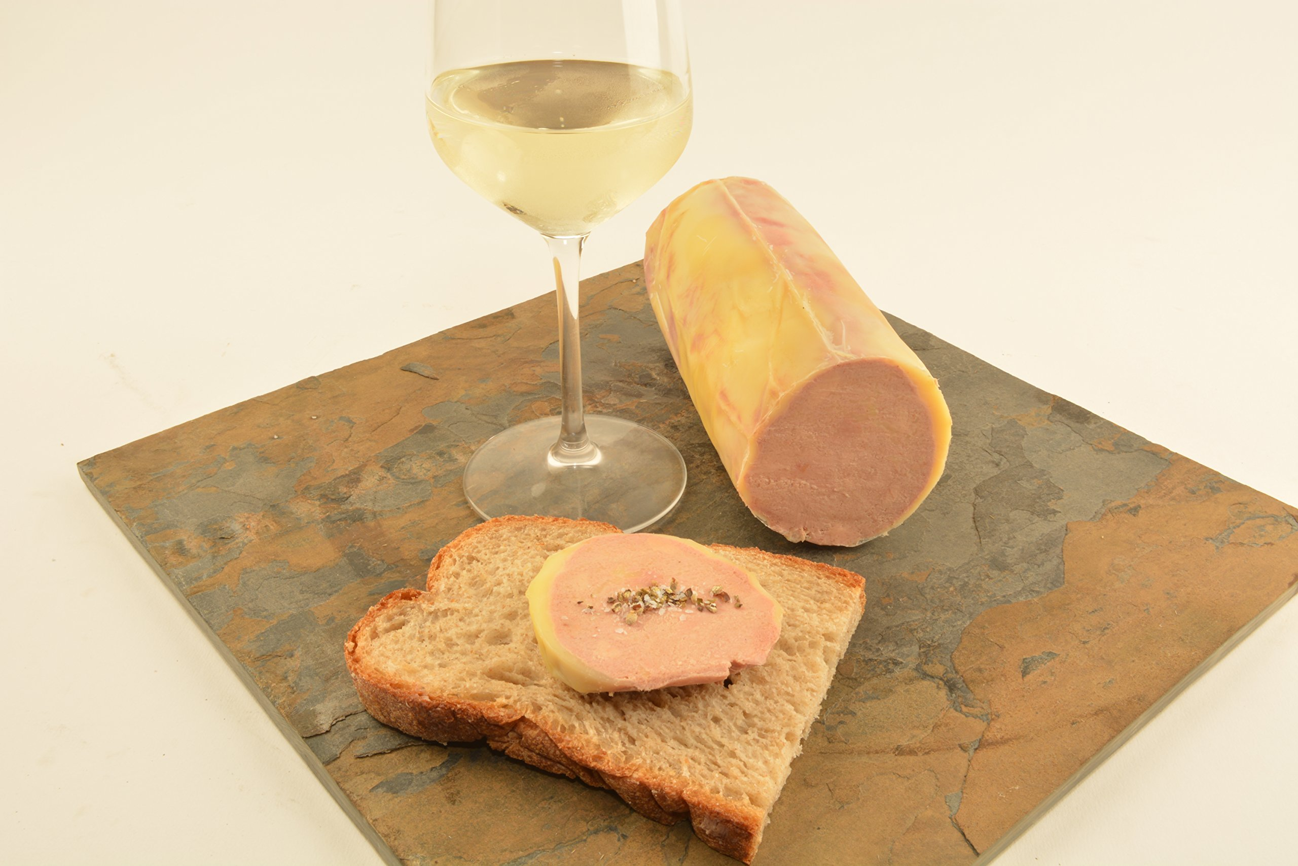French Foie Gras Torchon Style, 1.3lbs by Angel's Salumi (Image #1)