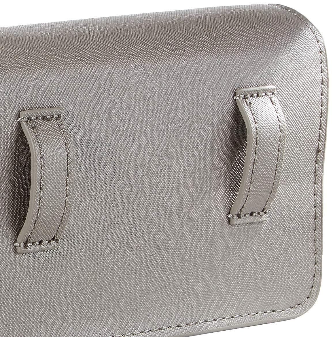 Grey Metallic 6x11.1x17.2 centimeters HONEY BELT BAG METALLICMujerBolsos bandoleraGris B x H x T