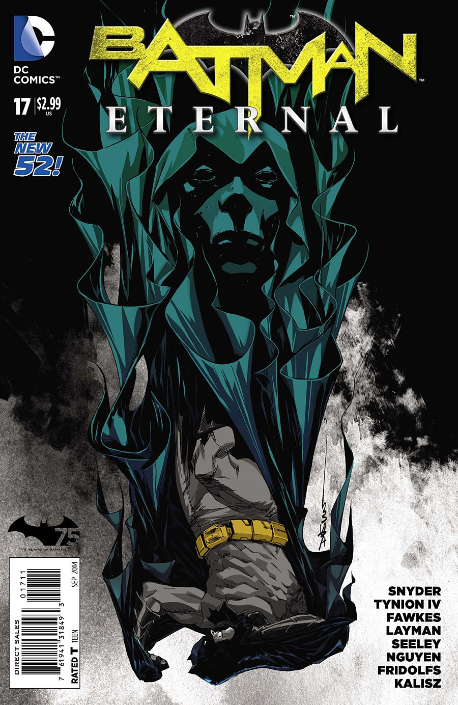 Download Batman Eternal #17 Comic Book pdf epub
