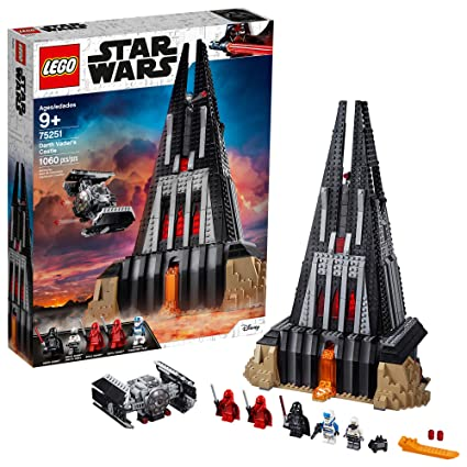 98ad61cf85d LEGO Star Wars Darth Vader's Castle 75251 Building Kit (1060 Pieces) -  (Amazon Exclusive)