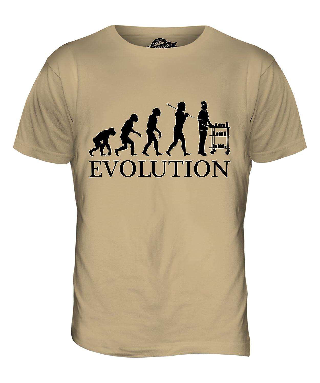 CandyMix Krankenschwester Evolution Des Menschen Herren T Shirt: Amazon.de:  Bekleidung