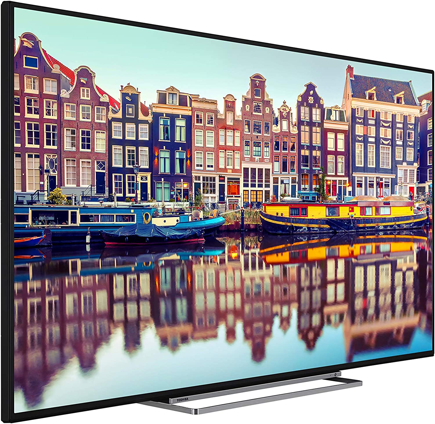 2020 Model Toshiba 55VL5A63DB 55-Inch Smart 4K Ultra HD HDR LED TV Freeview HD Freeview Play and Built-in WiFi