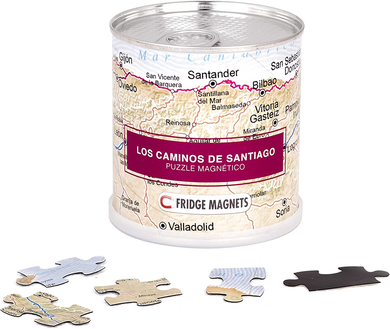 Extra Goods Los Caminos de Santiago - Puzzle magnetico: Amazon.es ...