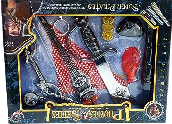 XXXL Carnaval piratas Set, Caribe,: Amazon.es: Juguetes y juegos