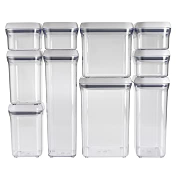 OXO 10 Piece Good Grips Pop Containers Set