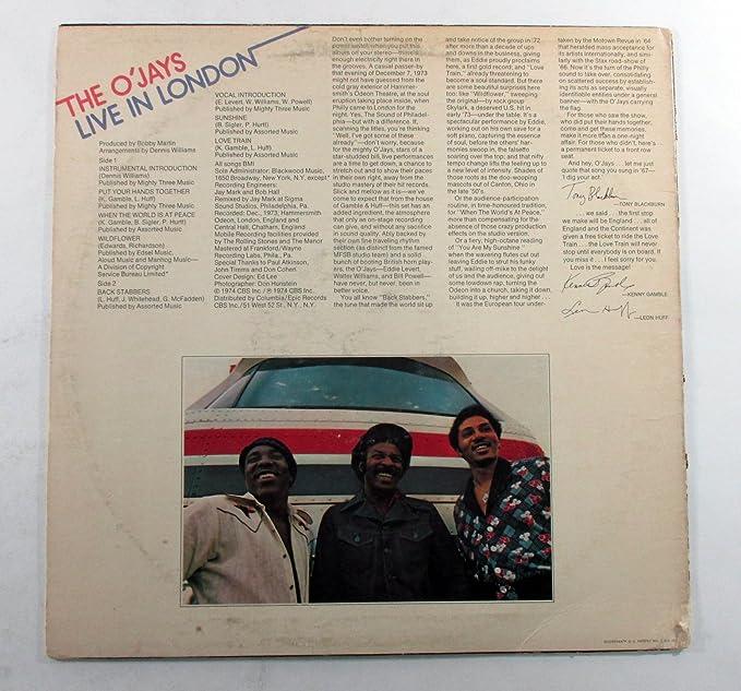 Eddie Levert & Walter Williams Signed Album The OJays Live in London 2 AUTOS: Amazon.es: Juguetes y juegos