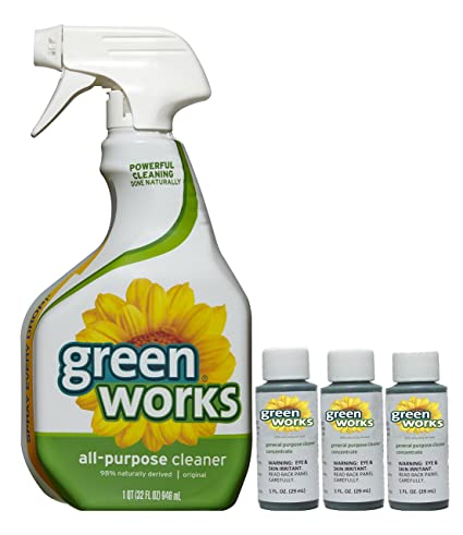 Amazoncom Clorox Green Works Allpurpose Cleaner Concentrate Value