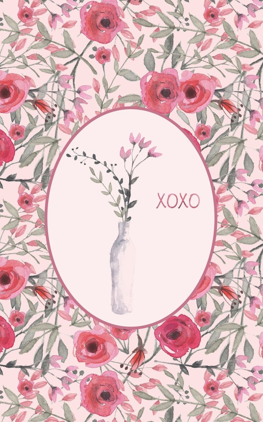 XOXO Red Roses - Lined Notebook with Margins - 5Narrow: 101 Pages, 5 x 8, Narrow Ruled, Journal, Soft Cover PDF