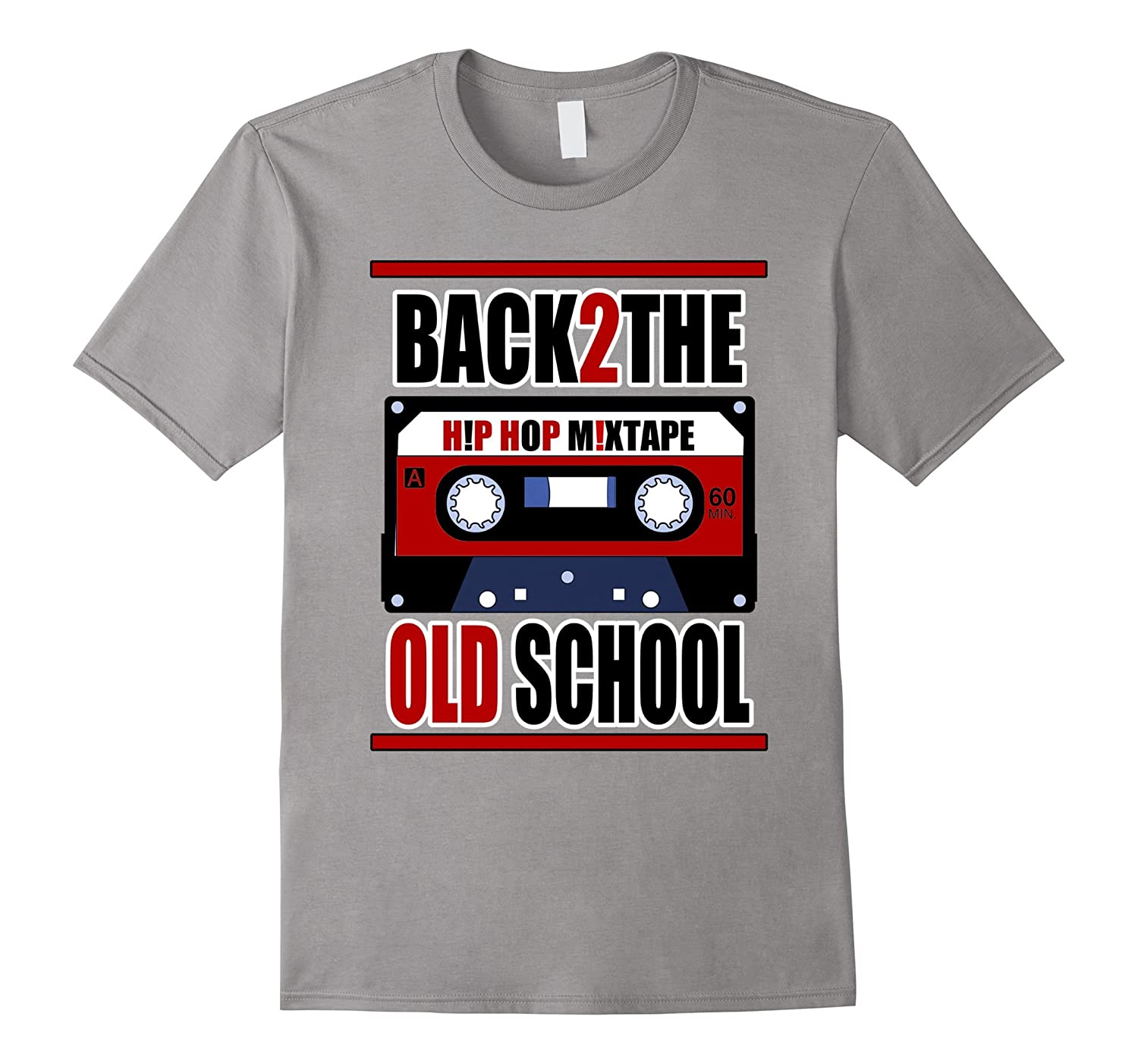 BACK 2 THE OLD SCHOOL T-SHIRT HIP HOP MIXTAPE-Vaci
