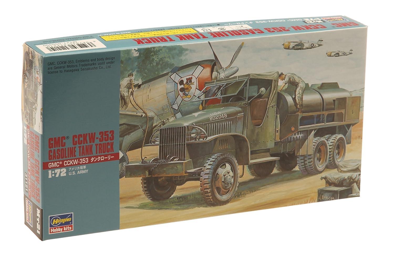Hasegawa 1//72 GMC CCKW-353 Gas Truck United Model Inc HSGS1821