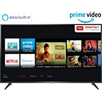 TCL 125.64 cm (50 inches) 4K Ultra HD Smart LED TV 50P65US-2019 (Black) | Built-In Alexa