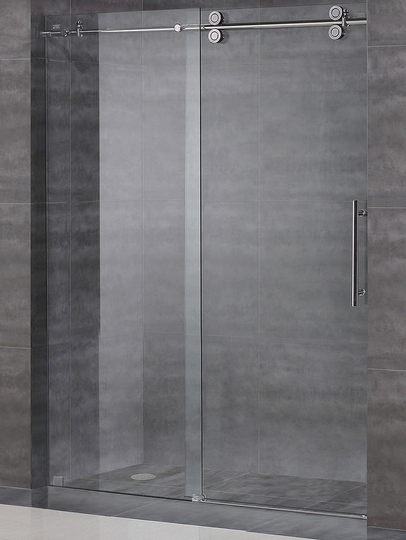 Frameless Sliding Shower Door Hardware Kit Glass Door Not Included