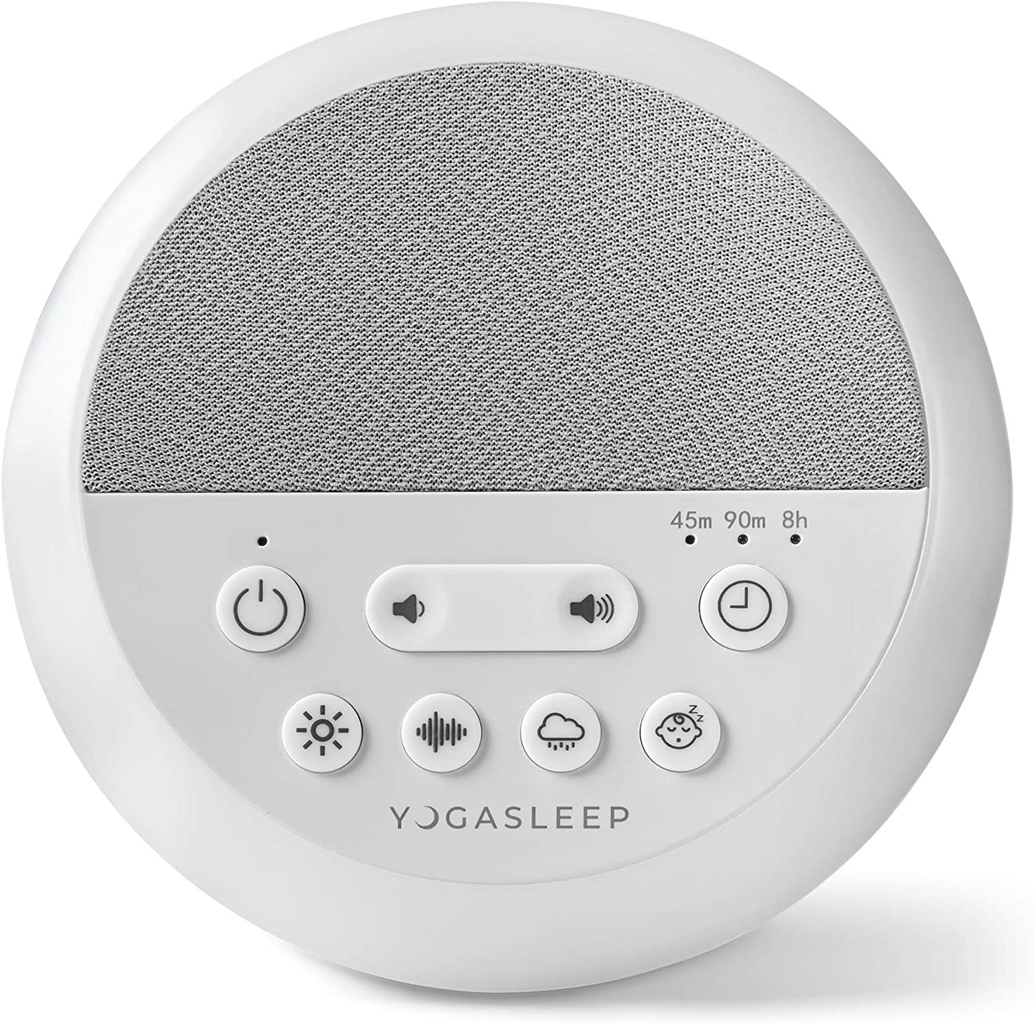 Yogasleep Nod Sound Machine and Night Light | Sound Machine for Travel, Office Privacy, Sleep Therapy | for Adults & Baby | 101 Night Trial