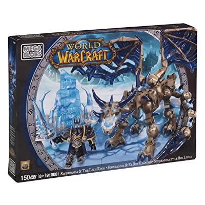 Mega Bloks World of Warcraft Sindragosa & The Lich King: Toys & Games