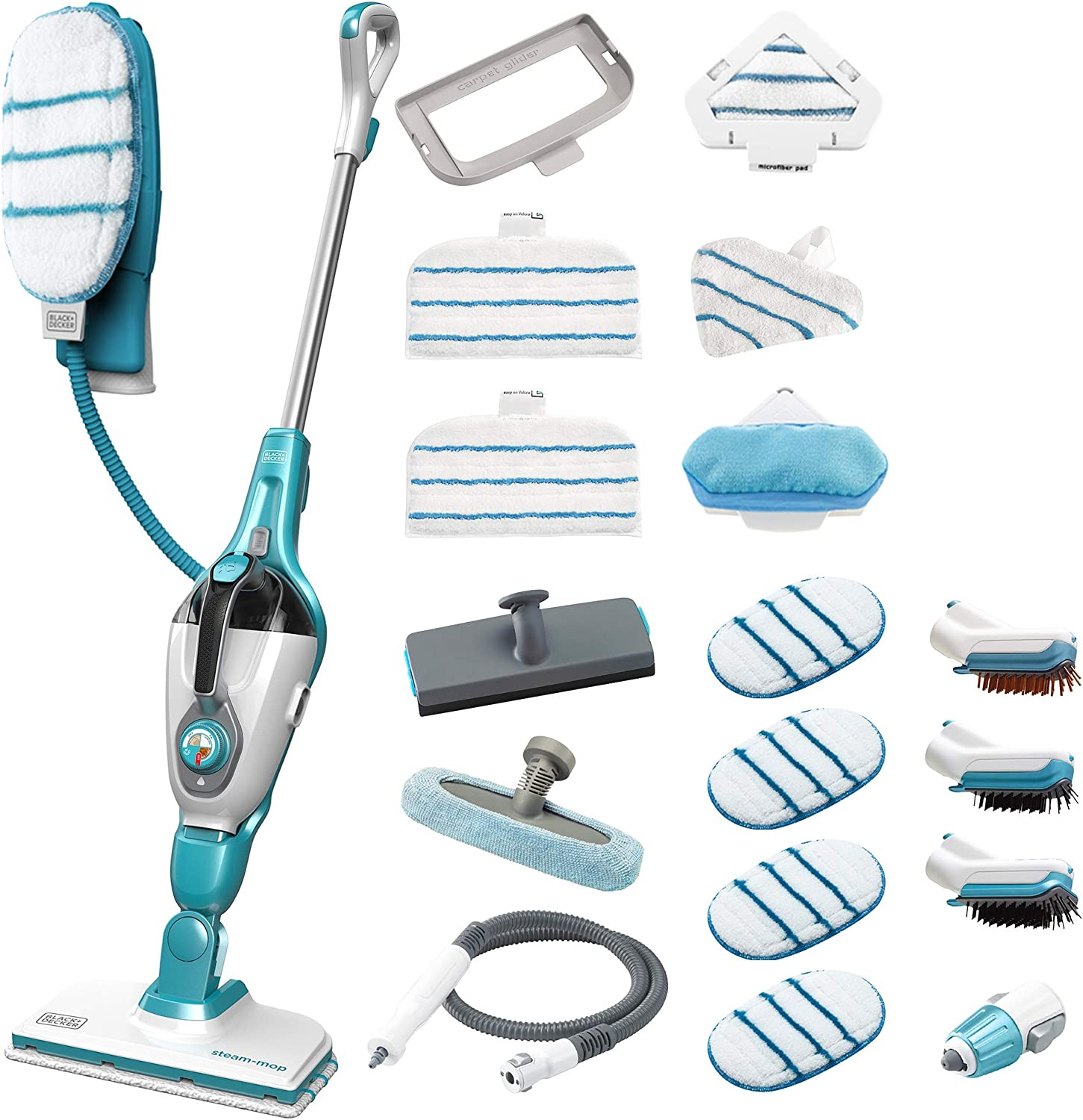 Steam-mop 17 in 1