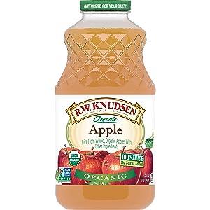 R.W. Knudsen Organic Apple Juice, 32 Ounces