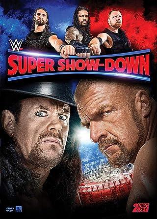 Wwe: Super Show-Down 2018 Edizione: Stati Uniti Italia DVD: Amazon.es: Cine y Series TV