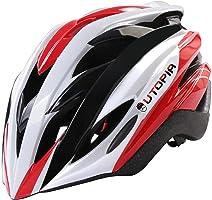Premium Quality Bicycle Helmet - Aerodynamic - Lightweight - Adults - Kids - Boys - Girls - PVC Shell Helmet - By Utopia Home