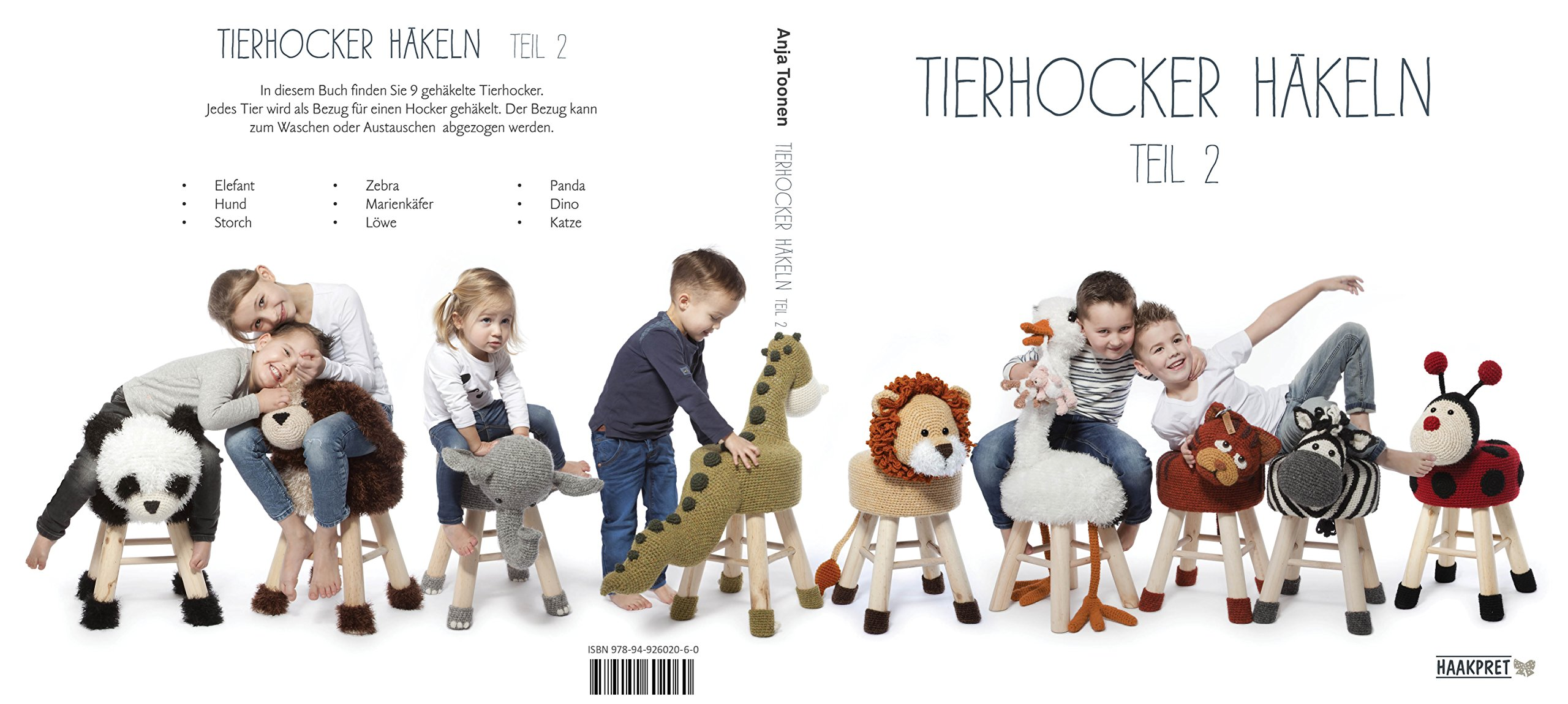 Tierhocker häkeln teil 2: Amazon.co.uk: Anja Toonen: 9789492602060 ...