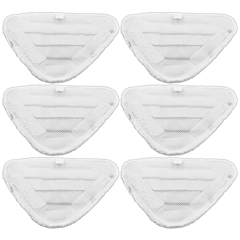 confezione da 6 pezzi panni lavabili per scopa a vapore Beldray 5-in-1 e 9-in-1 Spares2go