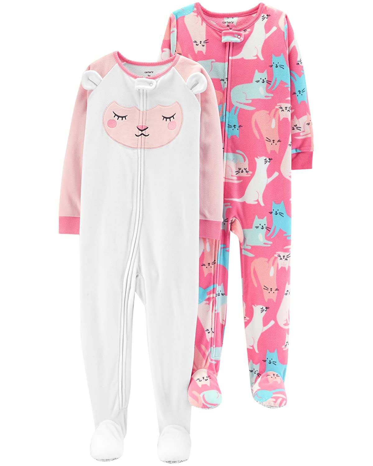 Carter's Baby Girls' 2-Pack Fleece Pajama Set Carters KBC 357G285