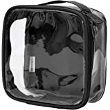 Clear TSA Approved 3-1-1 Travel Toiletry Bag/Transparent See
