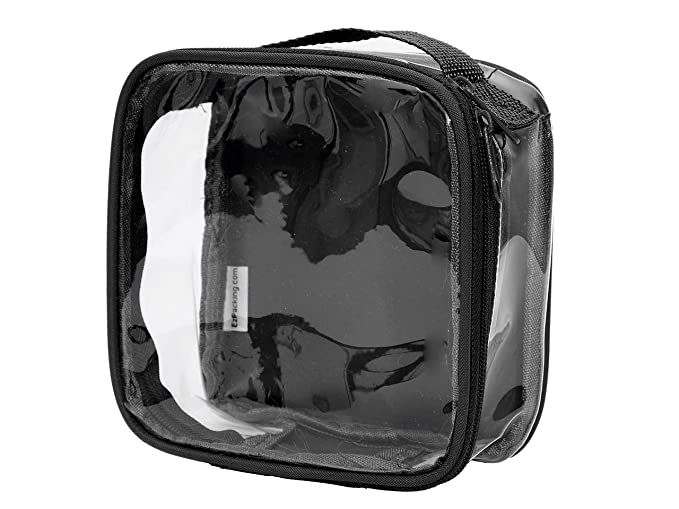 3cac9641037c Clear TSA Approved 3-1-1 Travel Toiletry Bag Transparent See Through  Organizer