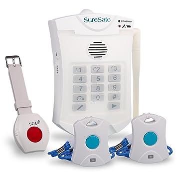 Suresafe personal alarms 1 x wristwatch 1 x pendant 1 free suresafe personal alarms 1 x wristwatch 1 x pendant 1 free spare pendant oap aloadofball Image collections