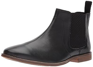 Ben Sherman Men's Gaston Chelsea Boot, Black-01A, ...
