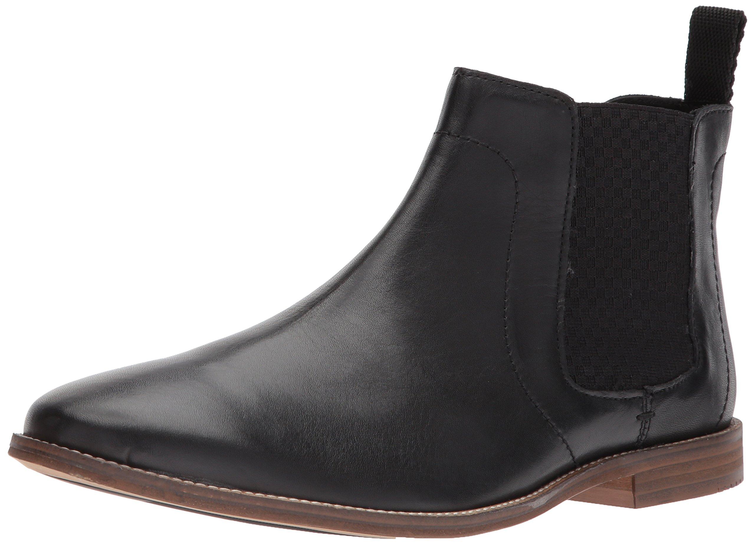 Ben Sherman Men's Gaston Chelsea Boot, Black-01A, 11 M US