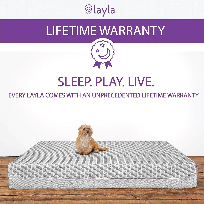 Amazon Layla Sleep Memory Foam Mattress Dual Firmness 1
