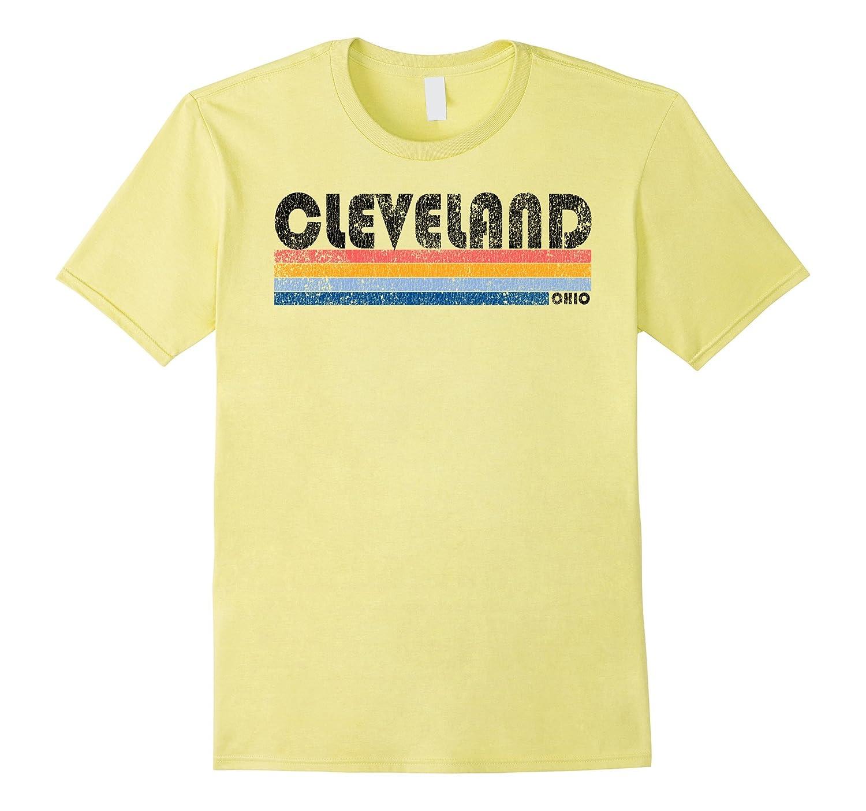 17508eb53264 Vintage 1980s Style Cleveland Ohio T Shirt-CL – Colamaga