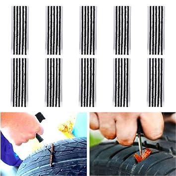 DIFEN Cuerdas de reparación de neumáticos - herramienta de ...