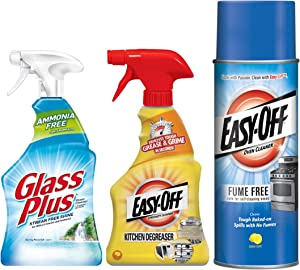 Easy Off Ultimate Glass & Kitchen Cleaning and Degreasing Bundle 1 ea