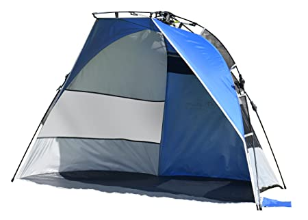 Lightspeed Outdoors Quick Draw Sun Shelter Blue Silver