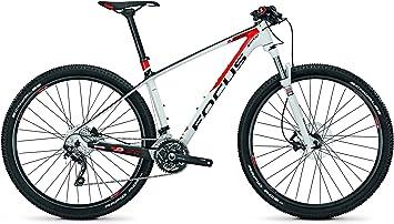 Focus Raven 29R 7.0 30 Gang-Kette Herren MTB 29 Zoll 2014 42 cm black/white(red): Amazon.es: Deportes y aire libre