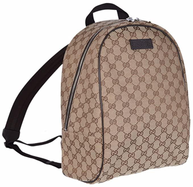 b8678b94f Gucci GG Guccissima Backpack Rucksack Travel Bag (Beige/Brown): Amazon.ca:  Clothing & Accessories
