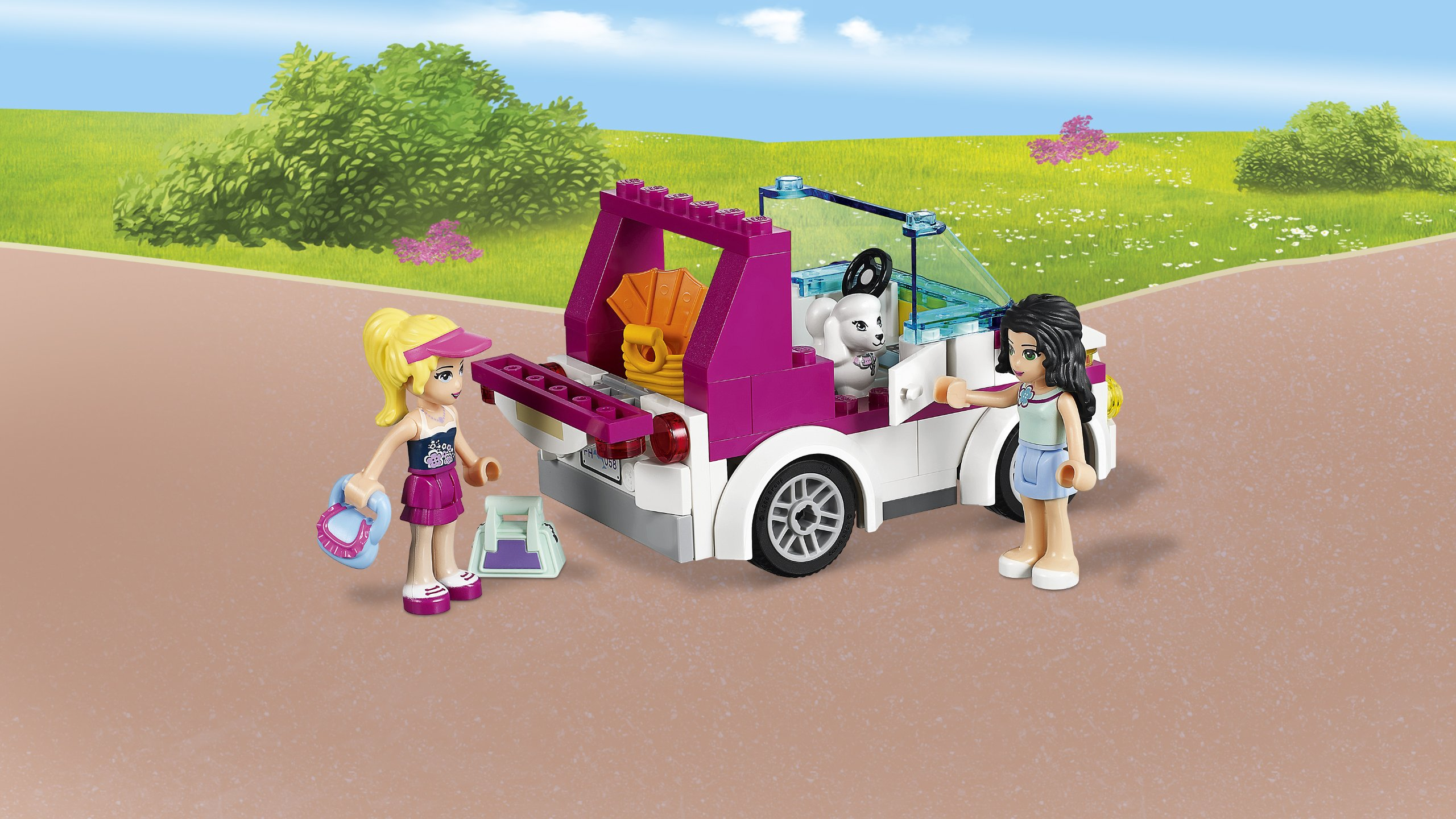 LEGO® Friends Girls Heartlake Shopping Mall Kids Building Set | 41058